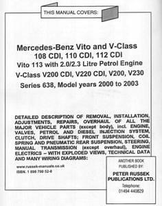 Looking For Vito 112 Cdi Manual