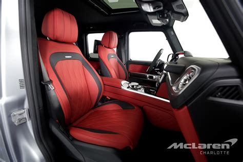 Folding the second row increases maximum amg trail package (amg g 63 only): Used 2020 Mercedes-Benz G-Class AMG G 63 For Sale ($289,996) | McLaren Charlotte Stock #348715