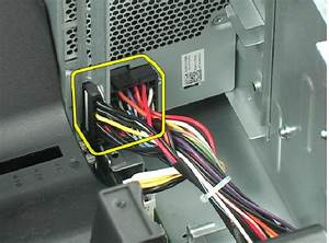 T410 Power Supply Connections
