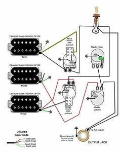 Epiphone Les Paul Custom 3 Pickup Wiring Diagram