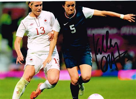 Autographs, relics, action shots and more from baseball, football and basketball. Mark's Autographs: TTM Success - Soccer Player Kelley O'Hara