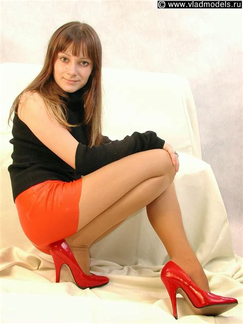 Innocent young virgin from ukraine. Nylon Goddess: vladmodels - y062 set 035