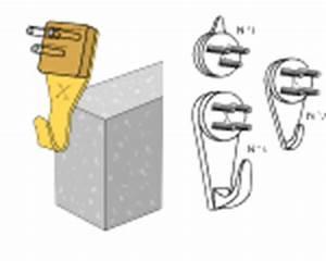 Crochet Mur Beton : comment accrocher sur le mur ~ Zukunftsfamilie.com Idées de Décoration