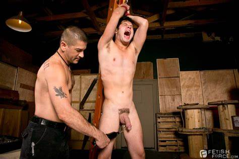 Stunning Dominatrix Grips A Guys Ball Fistingcentral Warehouse Kinks Tony Buff And Chase Slim