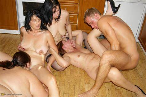 Goegeous Youthful Orgy Bang By Stepbrothers