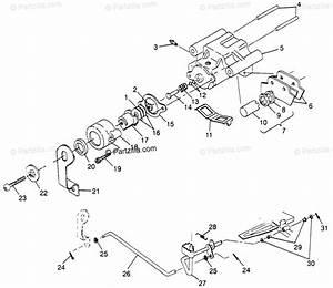 Polaris Atv 1997 Oem Parts Diagram For Rear Brake Sport