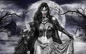 Sexy, Dark, Female, Vampire, Art
