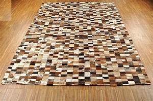 Weißes Kuhfell Teppich : kuhfell teppich braun schwarz weiss 192 x 145 cm patchwork ~ Sanjose-hotels-ca.com Haus und Dekorationen