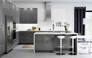 Modeles Cuisine Ikea : 45 cuisines ikea parfaitement bien con ues des id es ~ Dallasstarsshop.com Idées de Décoration