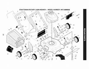 Page 34 Of Craftsman Lawn Mower 917 389053 User Guide