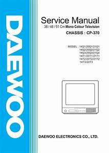 Daewoo 14t1 Service Manual