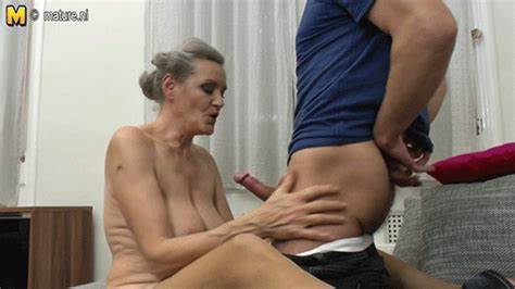 Attractive Russian Mature Caught Her Stud Nympho Granny And Cousin Gifs