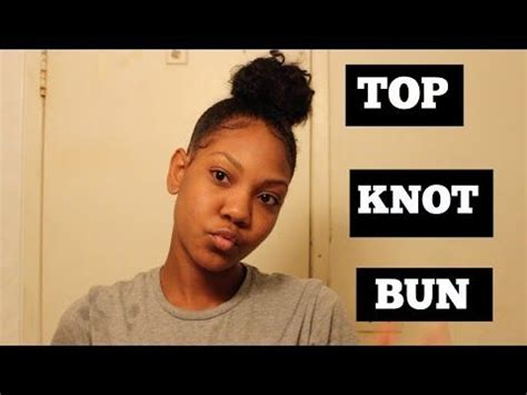 The lazy girl guide to a perfectly messy bun Natural