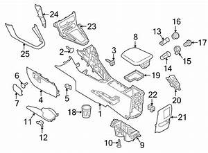 2016 Ford Focus Console Armrest  2015