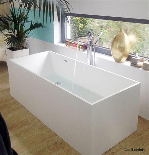 Die installation einer freistehenden badewanne: Freistehende Badewanne BW-06-XL aus Mineralguss in matt ...