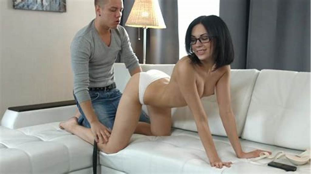 #Brunette #Sheri #Vi, #Gets #Cock #In #Both #Her #Creamy #Love #Holes