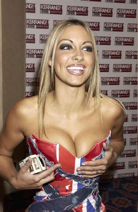 Jodie Marsh cleavage and thigh show ~ Hot Actress Sexy Pics