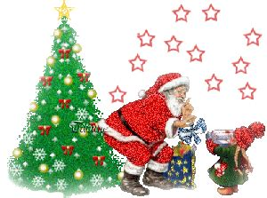 papa noel feliz navidad Navidad animadofeliz