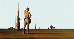 Book, This, Ralph, Mcquarrie, Painting, Depicts, The, Hard, Life