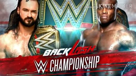 We did not find results for: WWE Backlash 2020 Official Match Card - YouTube