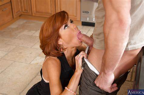 Red Hair And Blond Milfs