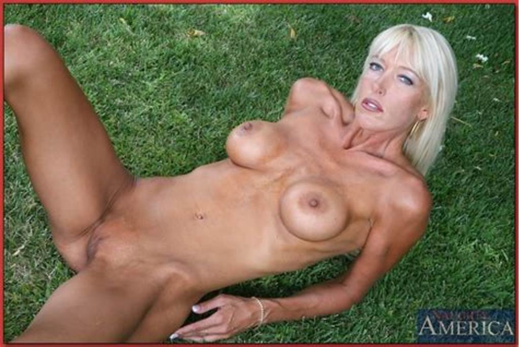 #Outdoor #Masturbation #Scene #With #A #Tanned #Blonde #Mature