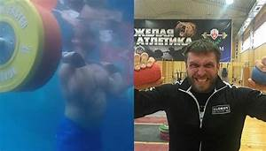 Watch Dmitry Klokov Bench Press Underwater