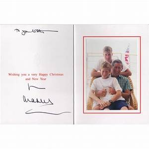 Prince Charles genuine authentic signed card royalty COA ...