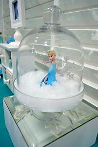 Elsa Decorations at a Frozen Birthday Party! See more ...