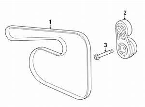 Chevrolet Malibu Serpentine Belt  Liter  Drive  Belts