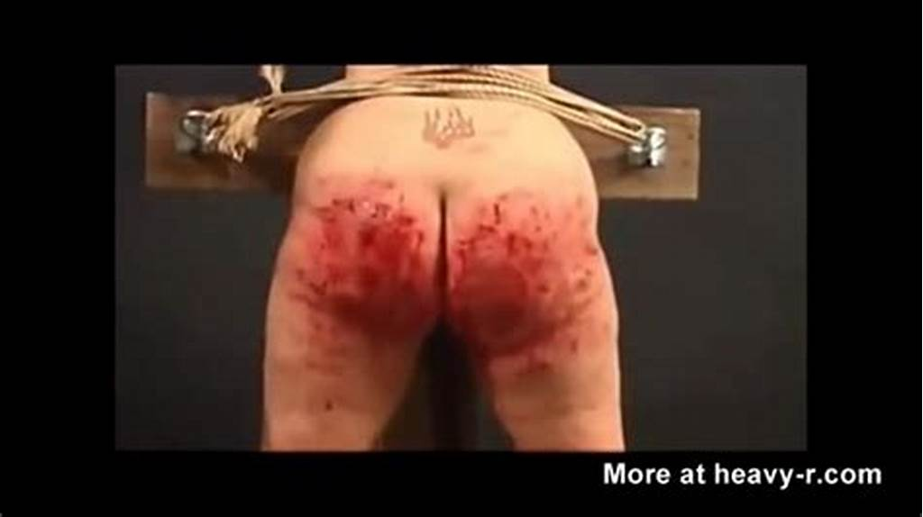 #Extreme #Bloody #Ass #Whipping