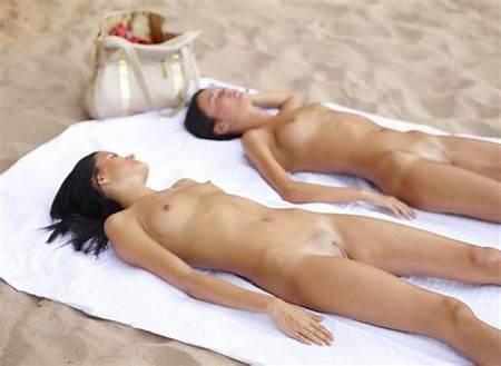 Sunbathing Nude Teenage