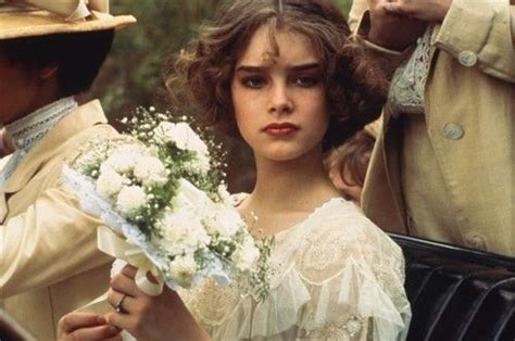 How can someone be that good looking while being a complete slob? Brooke Shields in Pretty Baby, 1978 | Innocence ...