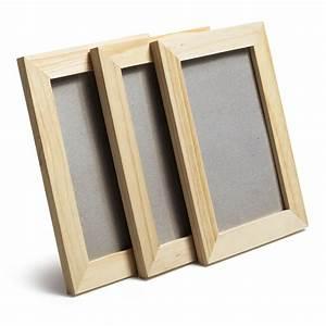 Cadre Décoratif Pas Cher : cadre lot de 3 10 x 15 cm naturel leroy merlin ~ Teatrodelosmanantiales.com Idées de Décoration