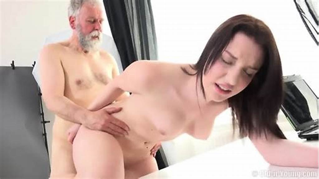 #Old #Guy #Fucks #Teen #During #Photo #Session