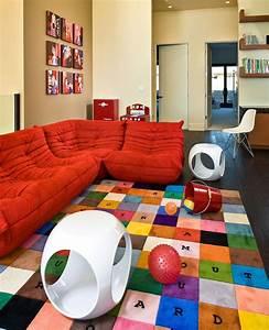 Chambre enfant amenagement et deco en 45 propositions for Tapis chambre enfant avec canape relaxo