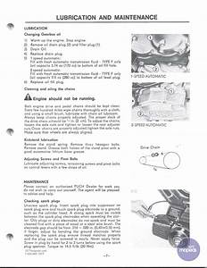 Restored Motorcycle Style  Puch Magnum Maxi Service Manual