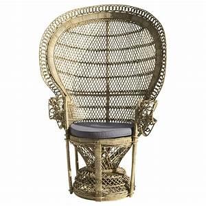 Fauteuil Rotin Maison Du Monde : fauteuil en rotin emmanuelle maisons du monde ~ Teatrodelosmanantiales.com Idées de Décoration