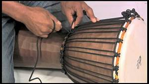 How To Tune A Djembe  Rope Tuning Instructions