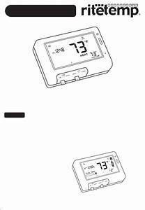 Ritetemp Thermostat 8030c User Guide