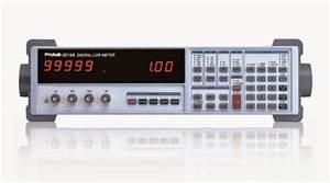 New  Protek    9216a    Digital Lcr Meter  100khz  0 05