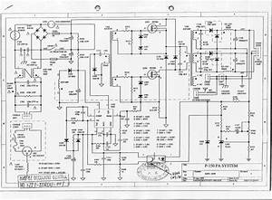Fender Passport P150 Power Supply Schematics