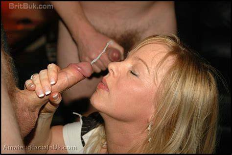 Beauty Mature Jizz Face