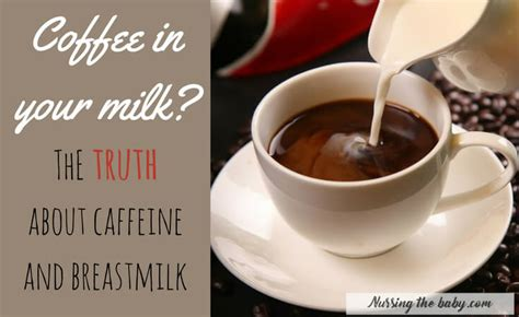 I definitely just drank way too much coffee. The truth about caffeine while breastfeeding ~ Nursing the Baby
