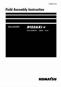 Komatsu Bulldozer D155axi