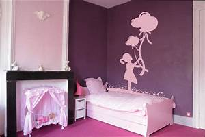 Idee Deco Chambre Petite Fille : peinture chambre fille 6 ans best quelles couleurs pour ~ Zukunftsfamilie.com Idées de Décoration