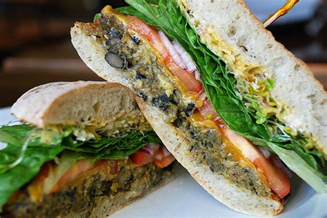 Firstly, i really enjoy cherry street. Veggie Burger at Cherry Street Coffee House - Eater Seattle