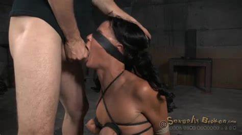 Tiedup Dominated Submissive Facefucked Stiff