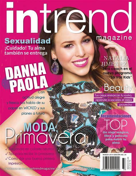 Intrend magazine - Danna Paola