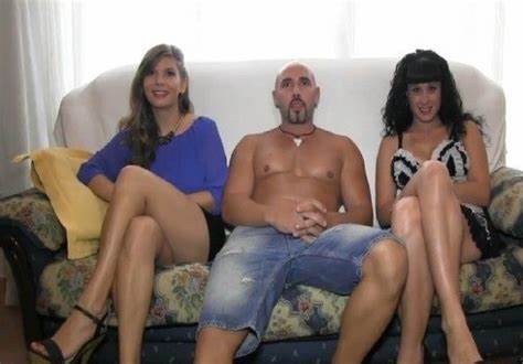 Ukrainian Cam Casting 3some With Three Family Couple Natural